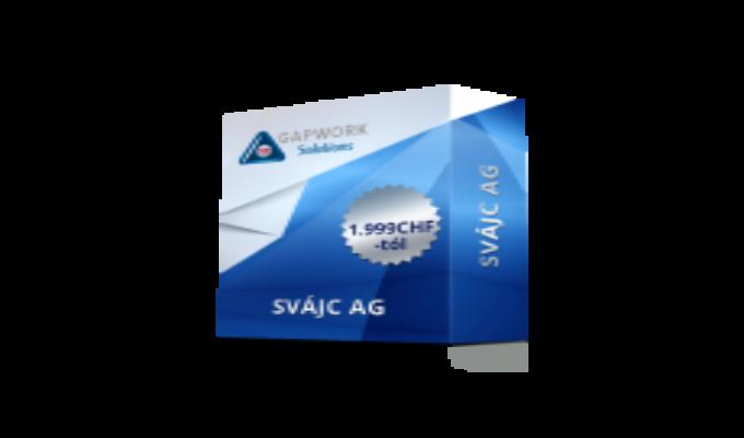 SVÁJCI AG 1.999,00 € +19% ÁFA
